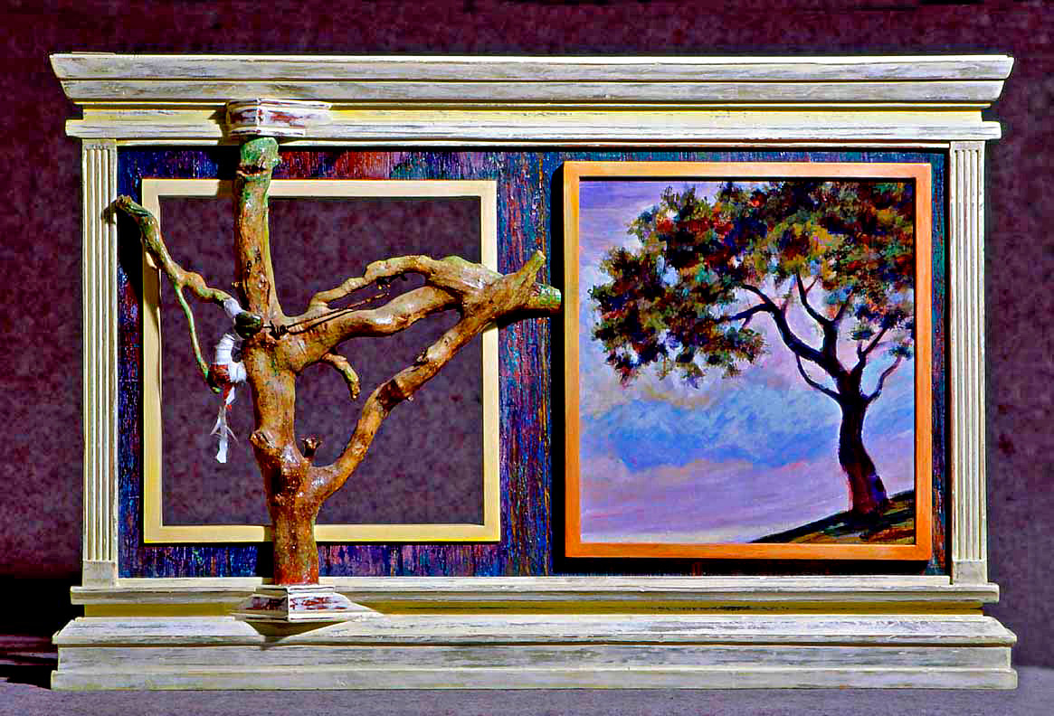 "Acrylic painting ""Windows""  by Ario Mashayekhi"