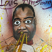 louisarmstrong by Joey Feldman