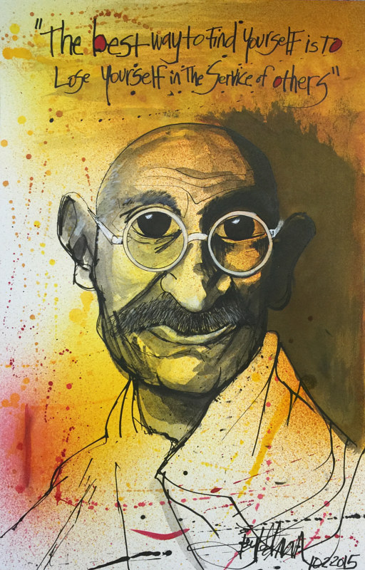 GANDHI by Joey Feldman