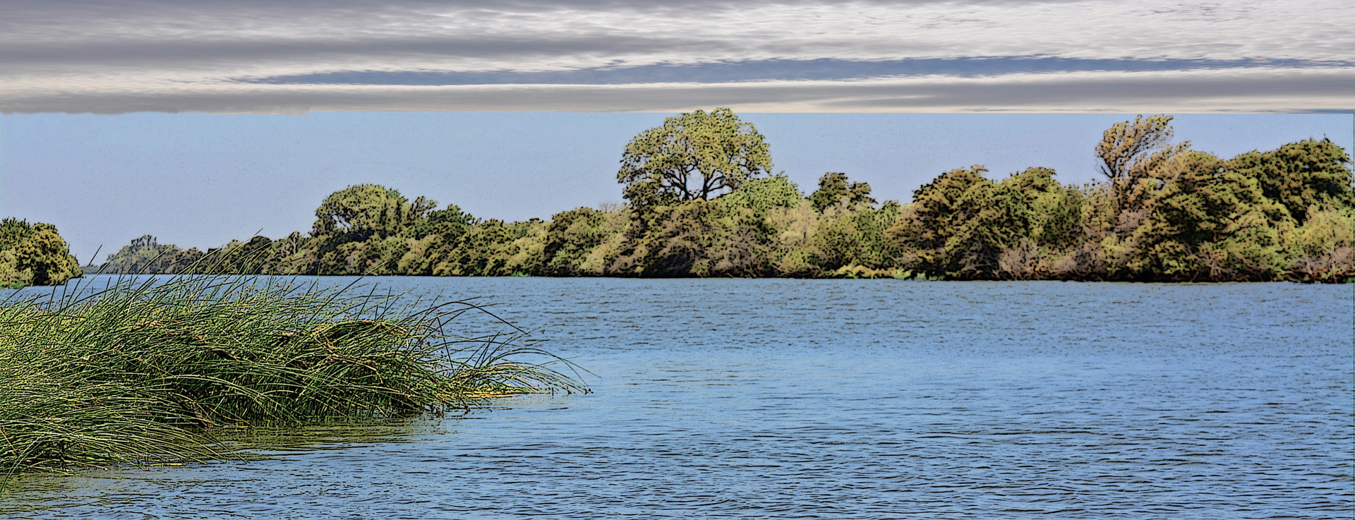 SACRAMENTO RIVER RIO VISTA by Joeann Edmonds-Matthew