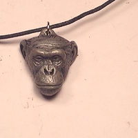 Denyse pendant cold cast pewter by Jason  Shanaman