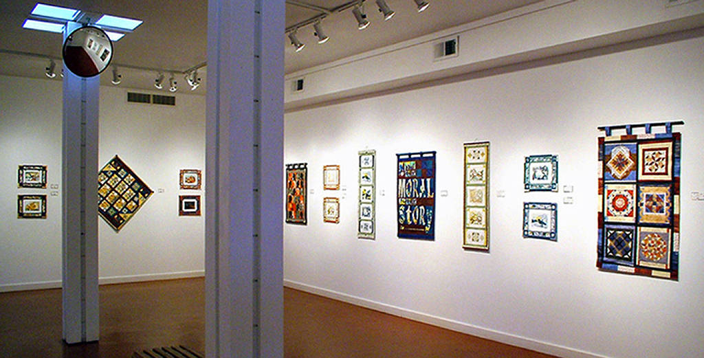 Print Bedtime Stories Installation, Campbell River & District Art Gallery, BC by Julie Mcintyre