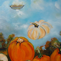 Waiting for the Great Pumpkin (inset) Sept 30 by Michelle Marcotte