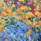 Oil painting Julia's Garden by Susette Gertsch