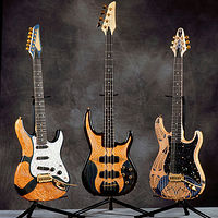 Guitars III, IV & V by Jeff Grassie