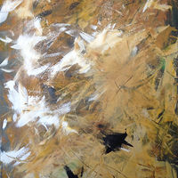 Acrylic painting Goldenrod by Bernard Scanlan