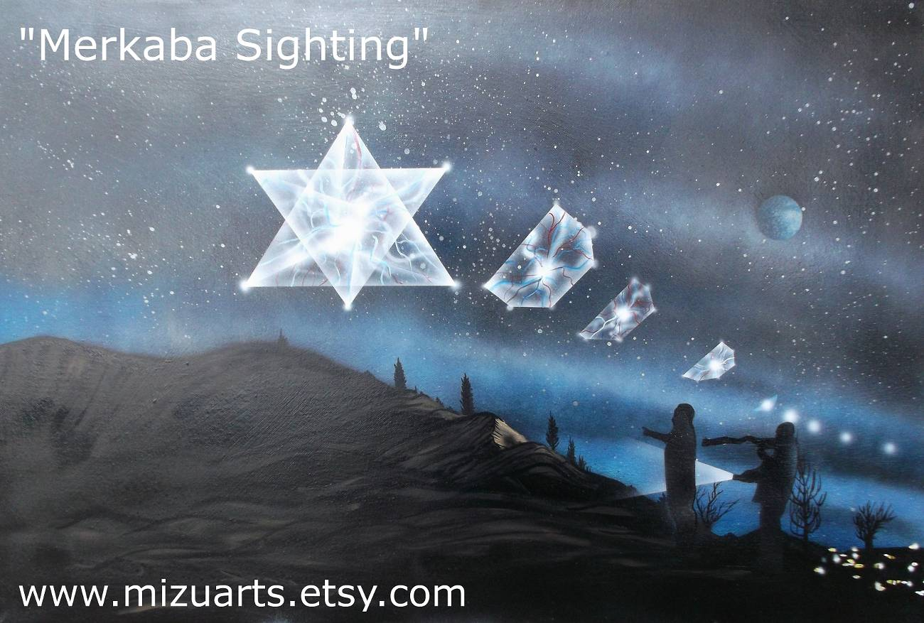 Print Merkaba Sighting  by Isaac Carpenter