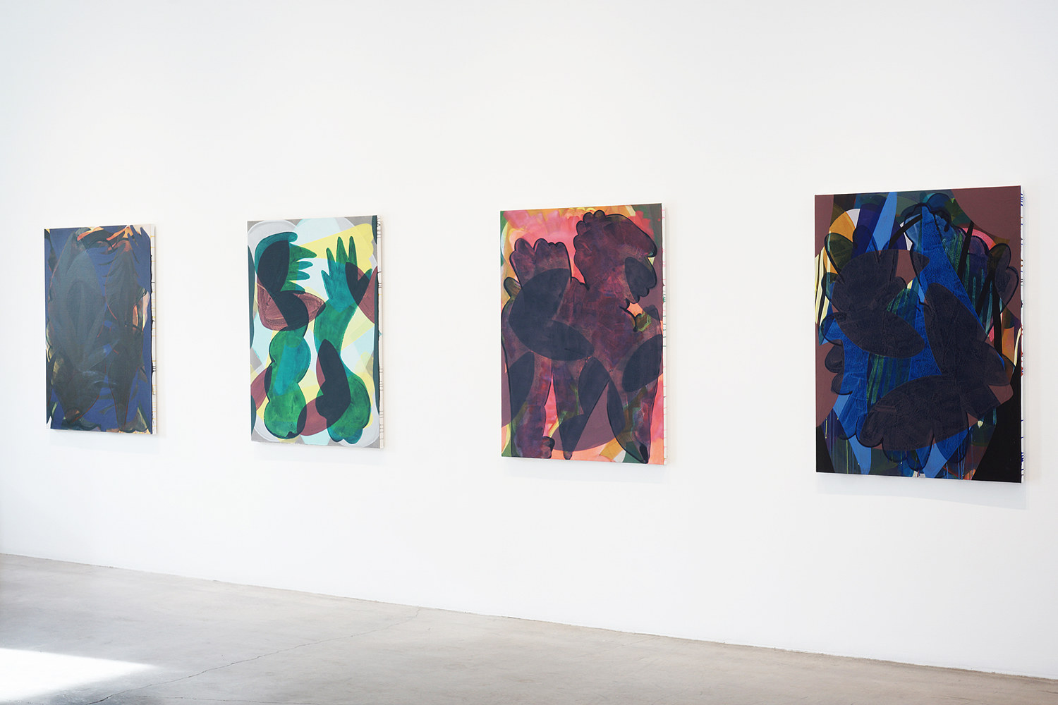 Night Moves, installation view at Paul Kuhn Gallery by Ashleigh Bartlett