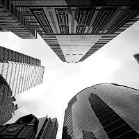 Towers Of Hong Kong by Janet pancho Gupta