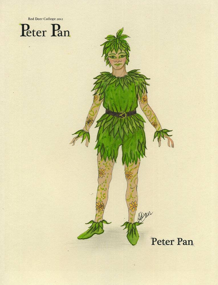 Peter Pan by Angela Dale