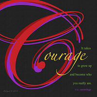 Courage by Sue Ellen Brown