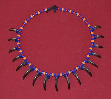 Mukwa Claw Necklace by Clayton King