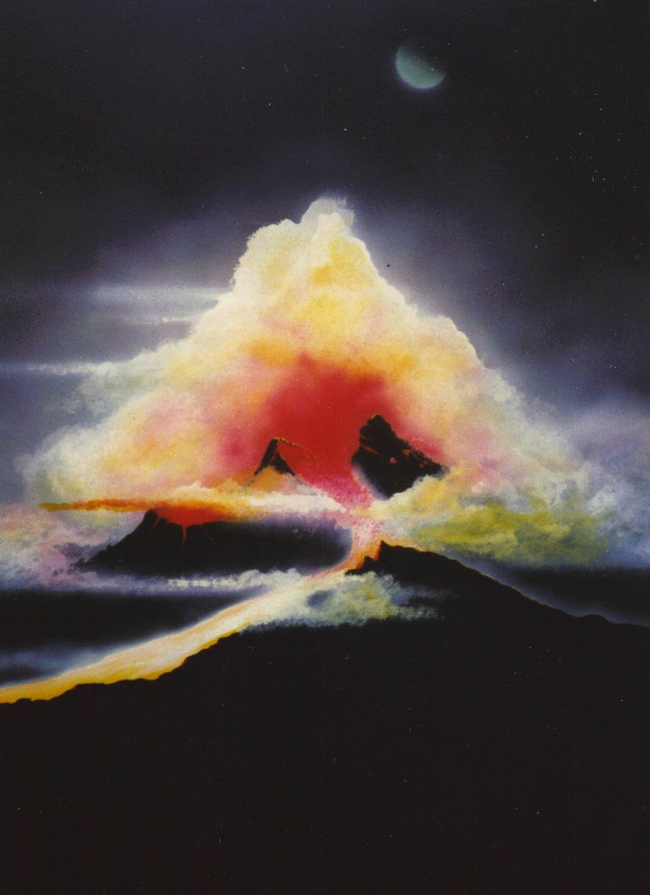 ERUPTION  by David Neace