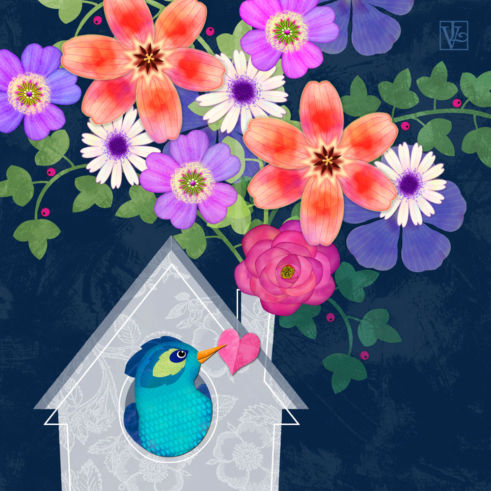 Home is Where You Bloom by Valerie Lesiak