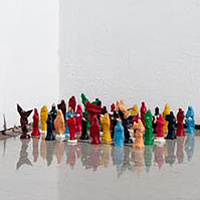 Untitled (Statuettes) - Part of the Holy Archetype Series by Magali Hebert-Huot