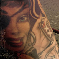 Tattoo on the Deck by Chloé Surprenant
