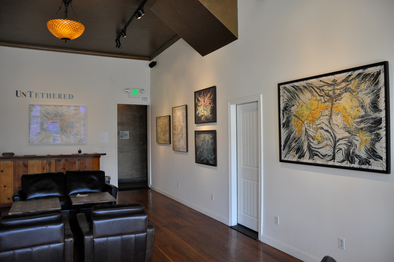 Dogpatch Gallery South Wall by Mark Garrett