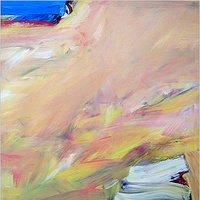 Acrylic painting Elements #55 by David Tycho