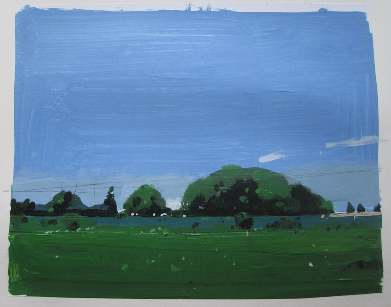 Acrylic painting Midday in May by Harry Stooshinoff