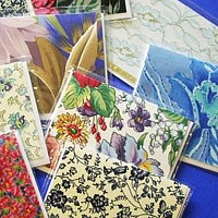 Drawing Fabric Cards by Vicki Allesia