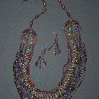 Magic necklace, another view  by Sue Ellen Brown
