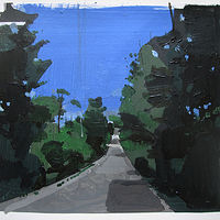 Acrylic painting Almost Home, June 15 by Harry Stooshinoff