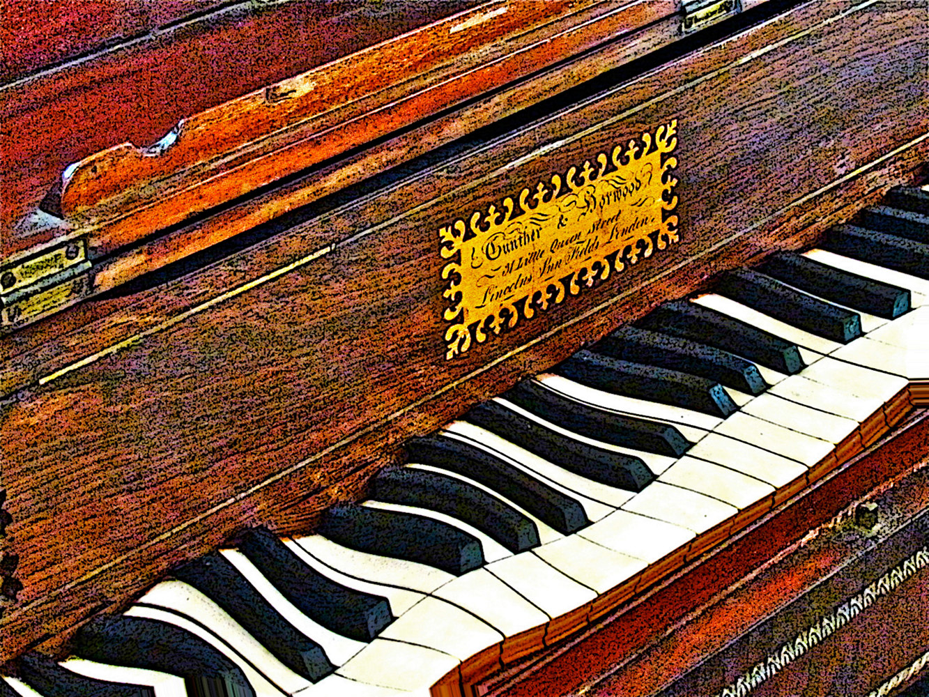 ROLLING IVORIES by Joeann Edmonds-Matthew