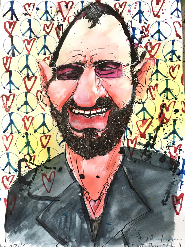 ringocaricature by Joey Feldman
