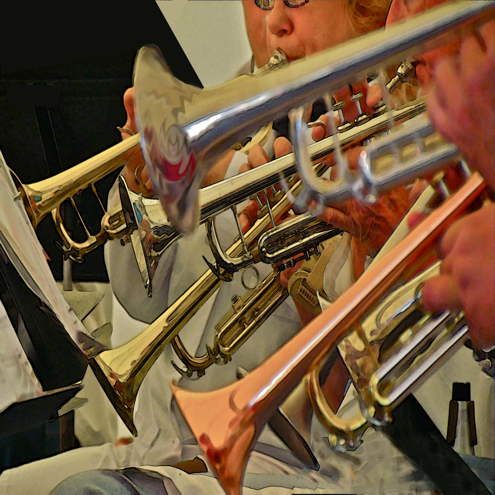 TRUMPET SECTION by Joeann Edmonds-Matthew