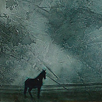 Acrylic painting Midnight by Sally Adams