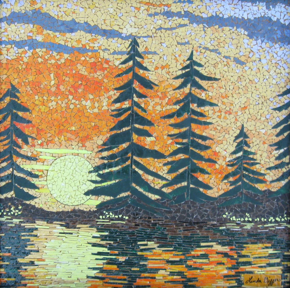 Adirondack Sunset by Linda Biggers