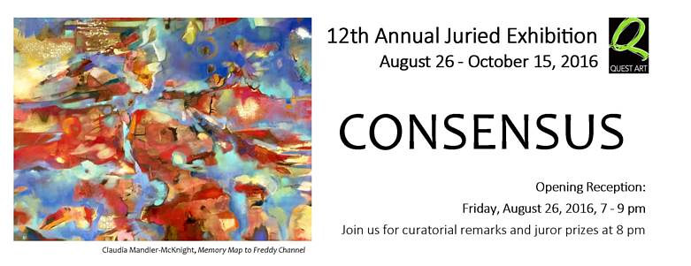 Consensus: 12th Annual Juried Exhibition by Clayton King