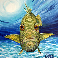 Print Grouper by Richard Ficker