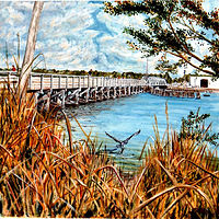 Print Mathers Bridge by Richard Ficker