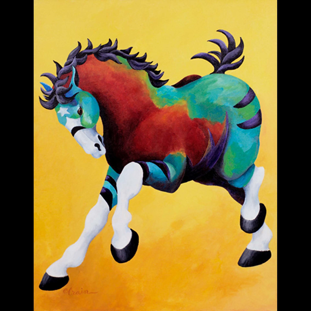 Print Big Horse by Cathy Crain