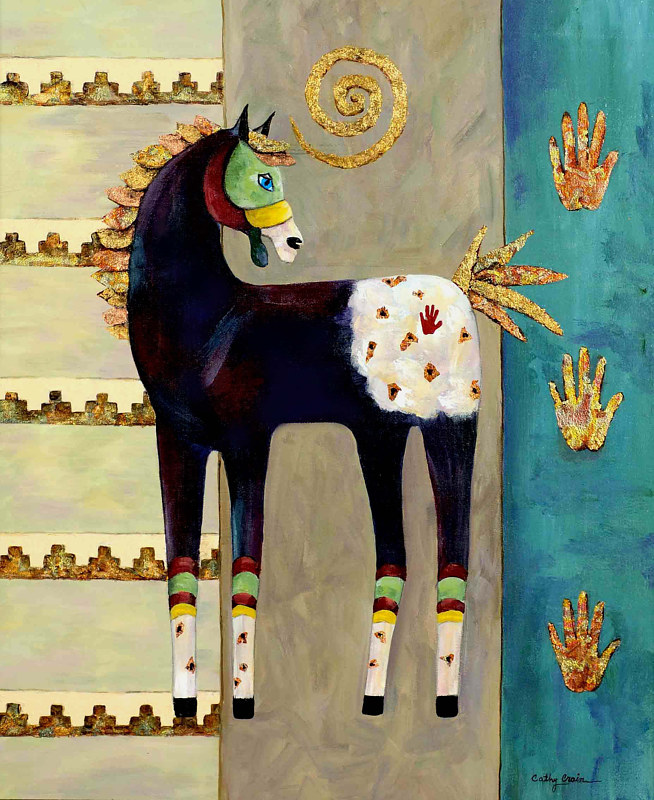 Print Spirit Horse by Cathy Crain