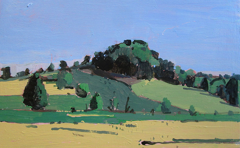 Acrylic painting 10 Saved Acres, September 2 by Harry Stooshinoff