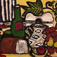 "Oil painting Still Life - 20""W x 16""H by Diane Green"