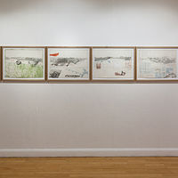"""Sierra Nevada Codex"", Exhibition view by Matthew Rangel"