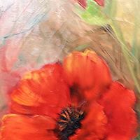 Red Poppies by Barbara Haviland
