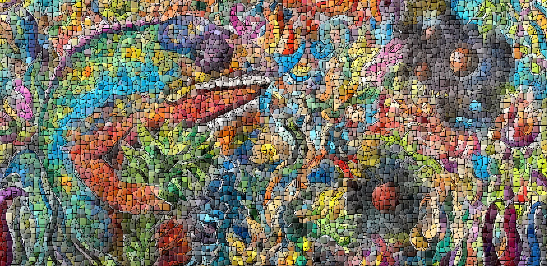 Chameleon Mosaic  by Isaac Carpenter