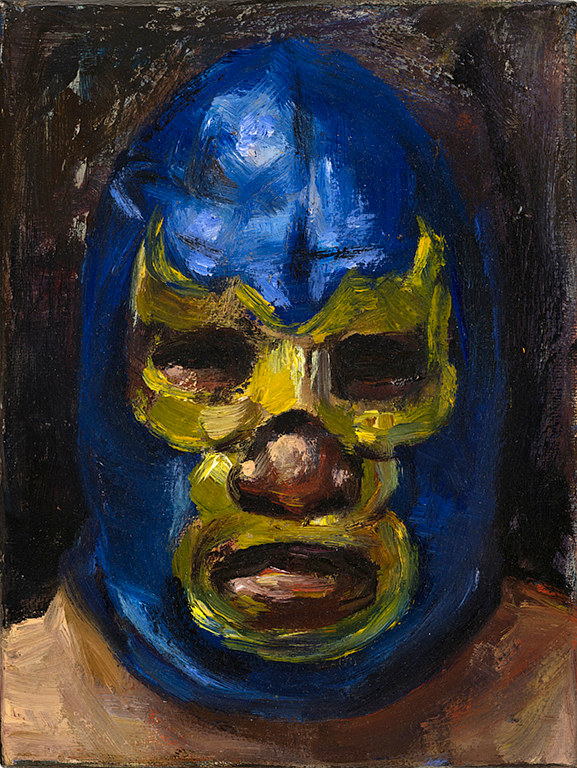 Oil painting Macho by Mary Hayes