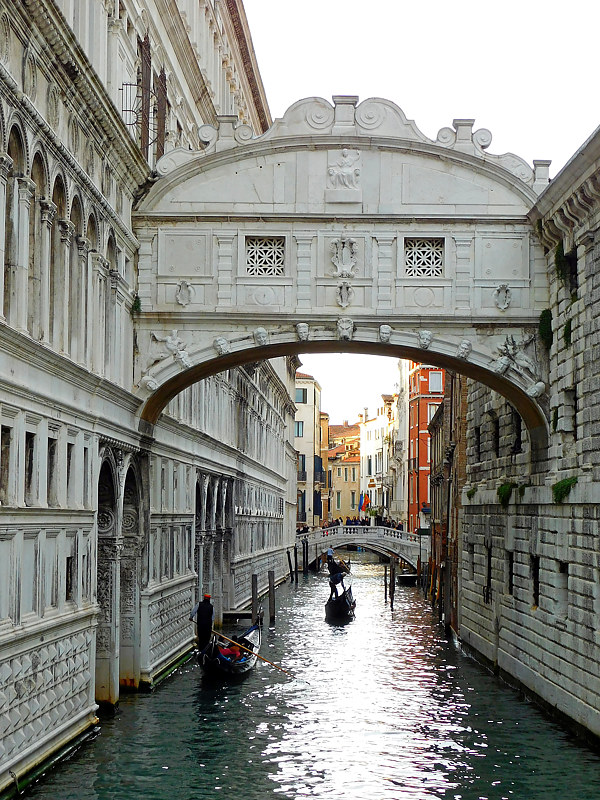 Print Janice Rhodes - Venitian Canal by George Servais