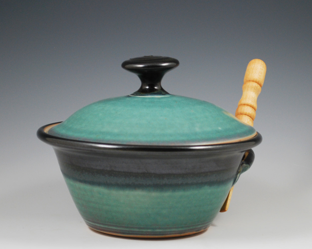 Pate Dish with Lid by Mark  Goertzen