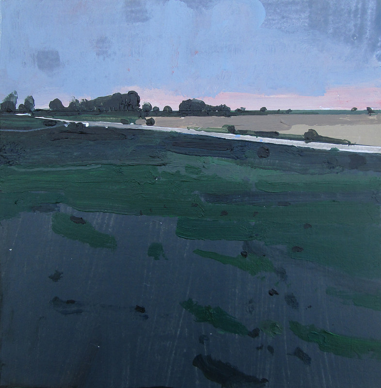 Acrylic painting 10 at Dusk by Harry Stooshinoff