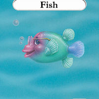 Drawing Fishie Bill by Sue Ellen Brown