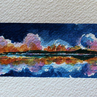 Watercolor Distance by Wanda Hawse