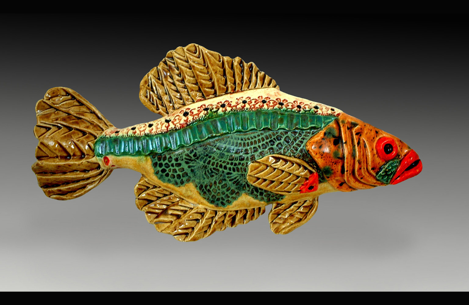 Crappie by Cathy Crain