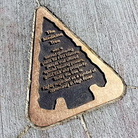George Lane Park- Plaque Detail by John Greg Ball