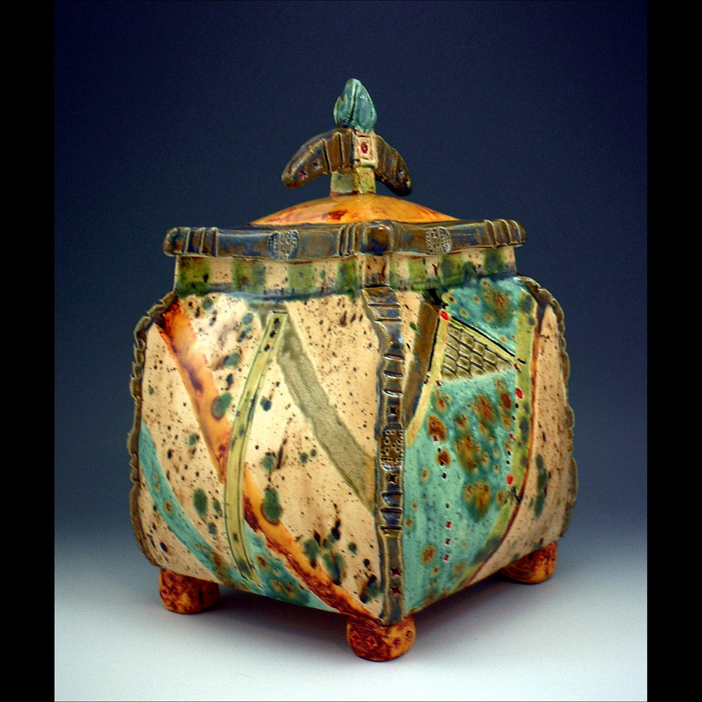 Lidded Box by Cathy Crain